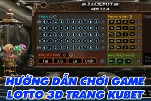 Hướng dẫn chơi game Lotto