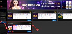 Cách chơi Kim Trác Hoa trên máy tính