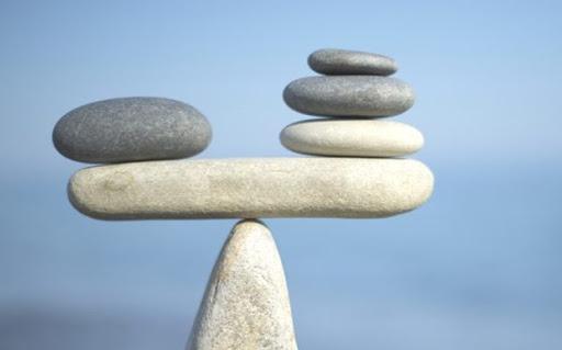 cân bằng trước khi gieo quẻ