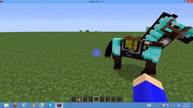 Thuần phục ngựa trong Minecraft