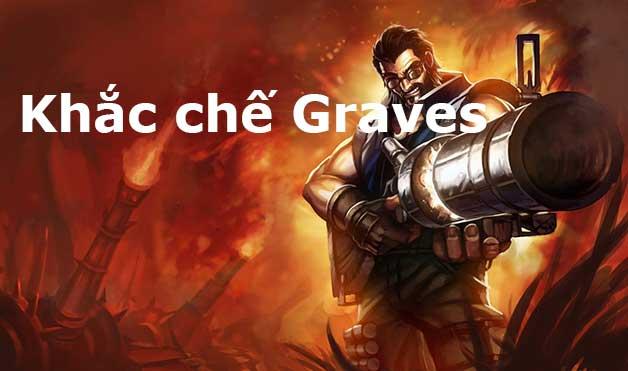 cách khắc chế Graves